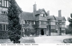 Alcock Convalescent Hospital Kerseley Coventry Photograph history 1925 Appleby