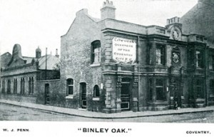 The Binley Oak 1913  Hillfields Coventry Photograph
