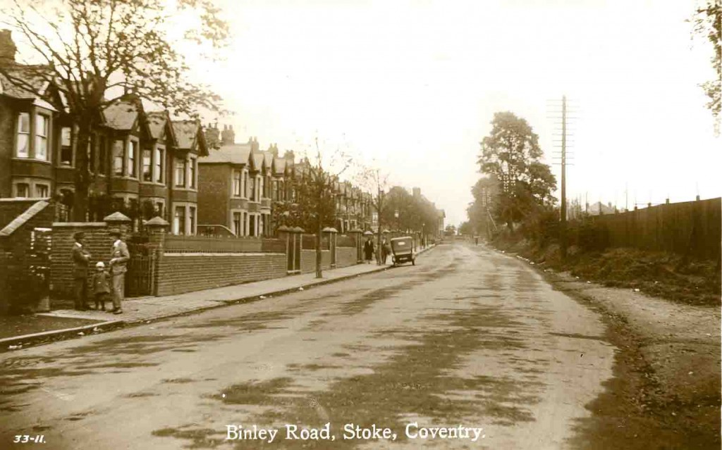 Binley Road Coventry Suburb Stoke Photograph History