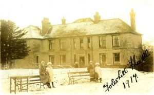 Foleshill Hall Lythalls Lane Coventry 1917 photograph