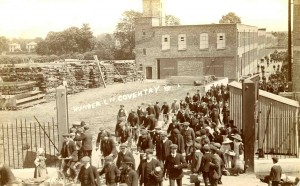 Humber Works Humber Road  Stoke Aldermoor Coventry History photographs