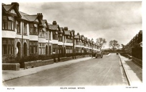 Kelvin Avenue Wyken Coventry Photographic History Suburb 1935
