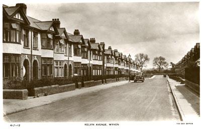 Kelvin Avenue Wyken Coventry Photographic History Suburb 1935