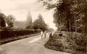 Kerseley Church Coventry Photograph history 1925