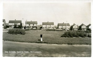 London Road roundabout A45 Willenhall Coventry Photographic History 1957