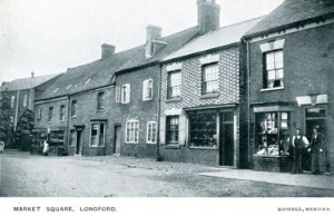 Market Square Longford Coventry History 1905 Sidwell