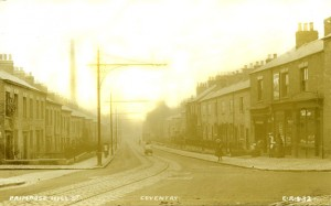 Primrose Hill Street  Hillfields Coventry photograph1907