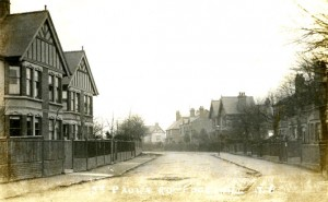 St Pauls Road Coventry 1912 photograph