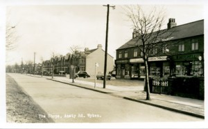 Shops Ansty Road Wyken Coventry Photographic History Suburb 1957